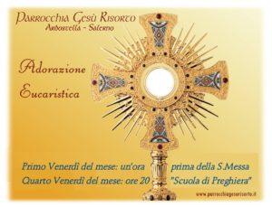 """Adorazione Eucaristica con """"Scuola di Preghiera"""""""