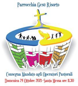 Consegna mandato agli operatori pastorali parrocchiali